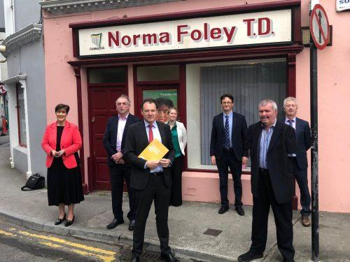 ILDN Delegation meet Minister's McConalogue & Foley